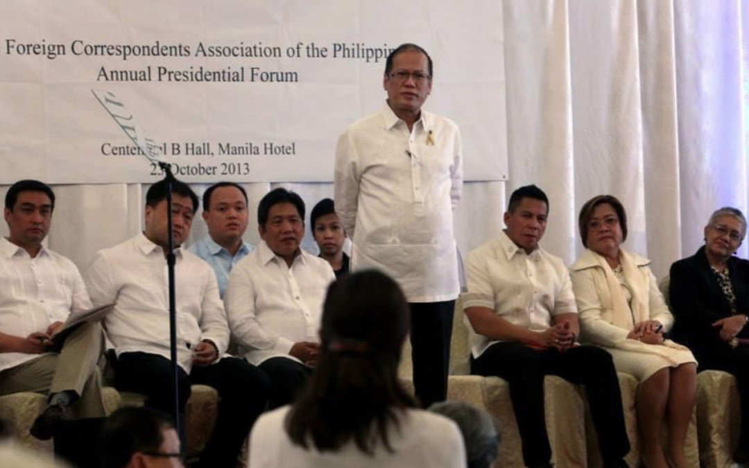 Flashback Friday: What PNoy said during his last forum with FOCAP